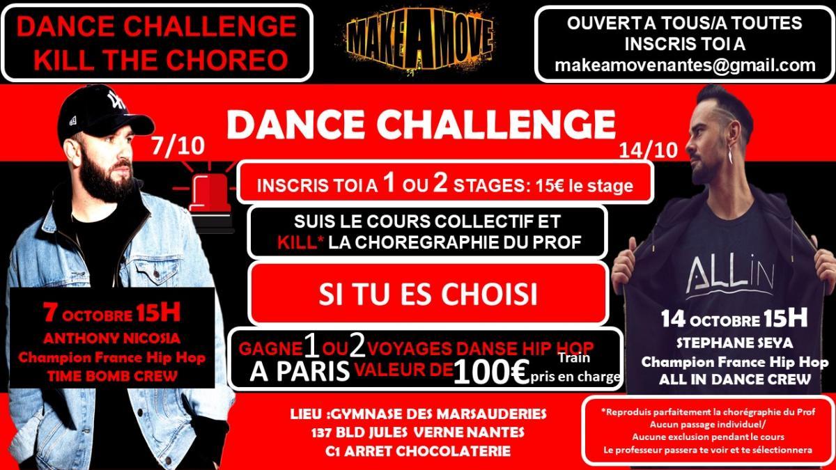 NANTES Dance challenge 1