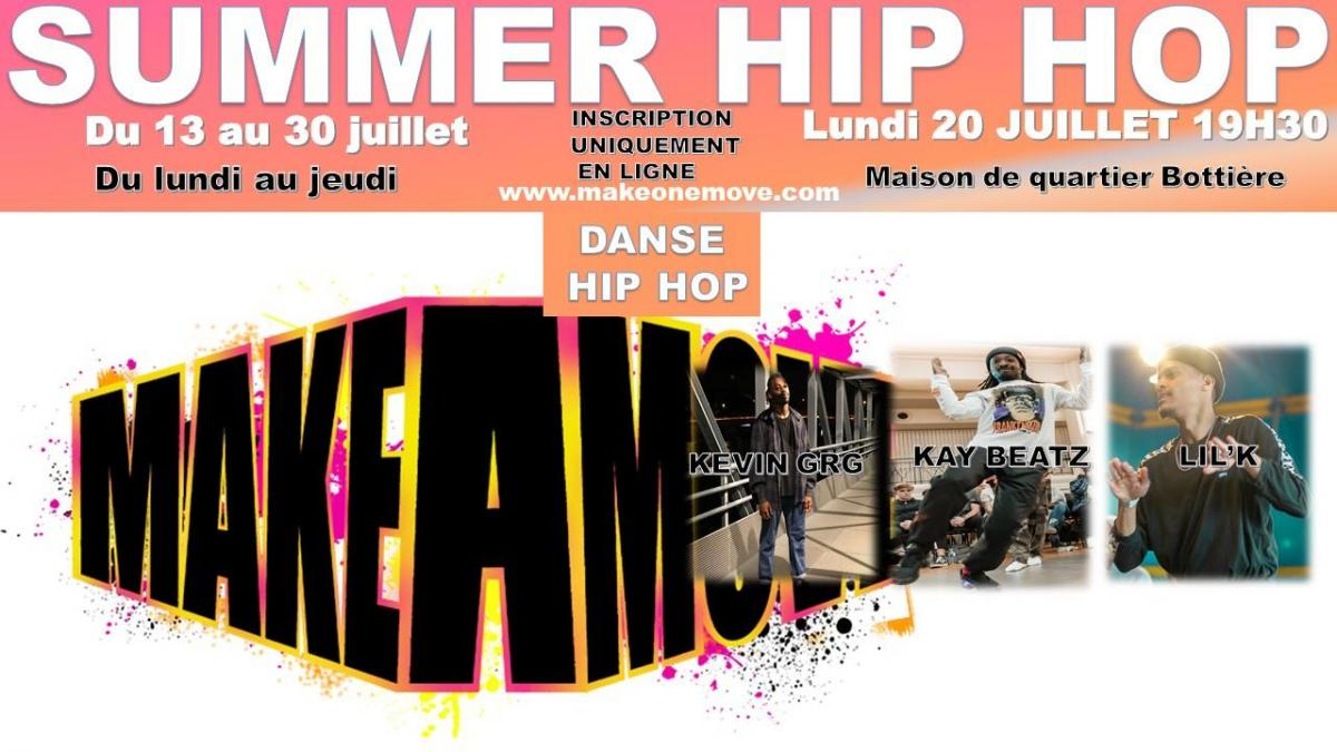 STAGE DANSE HIP HOP
