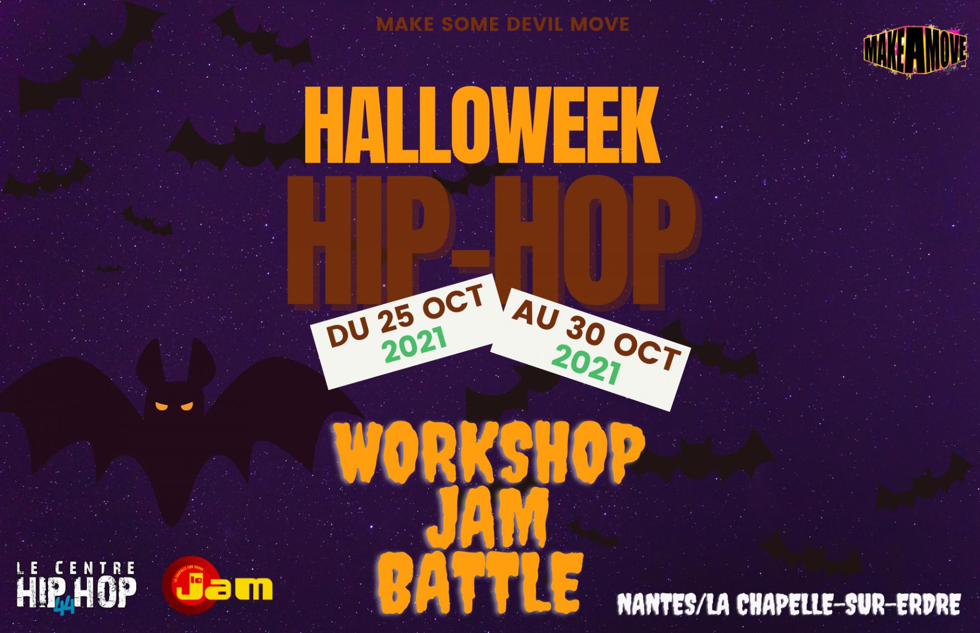 Hip Hop Haloweek