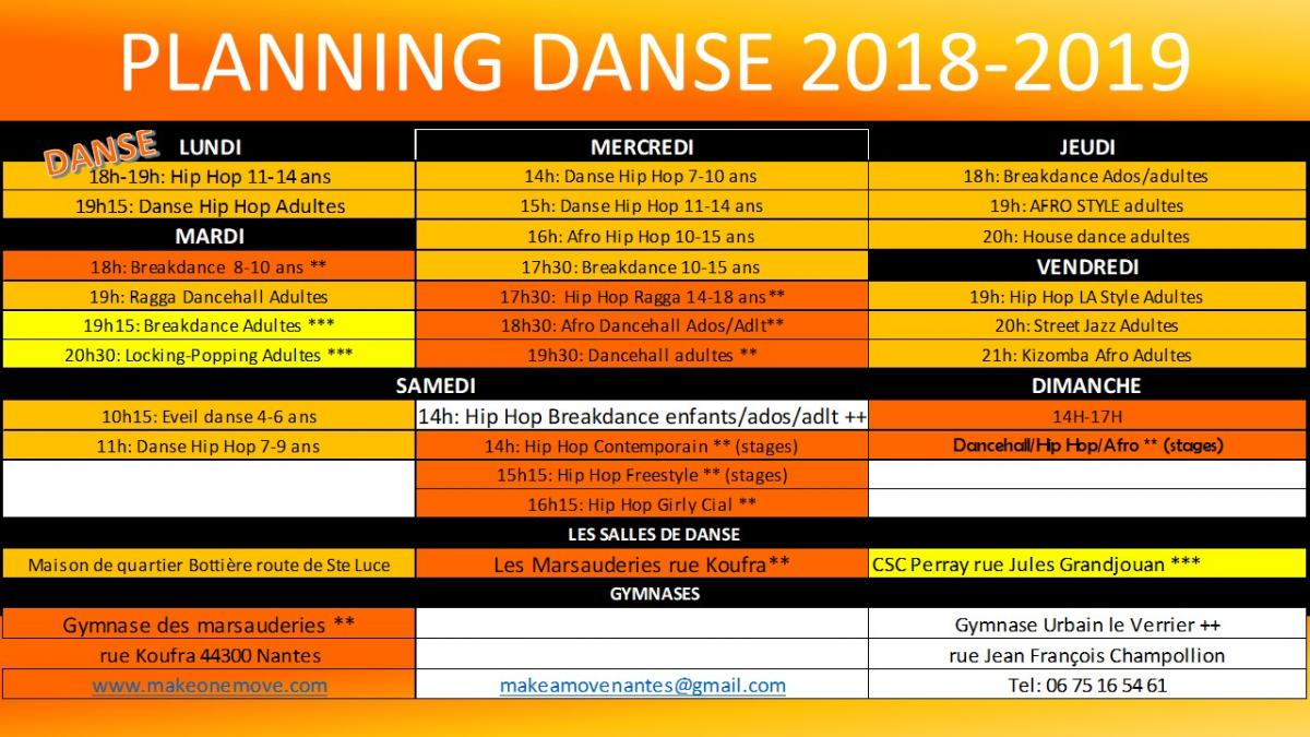 Planning danse 2018 2019 ok 1